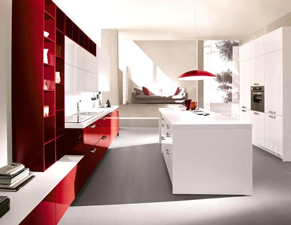cucina rosso