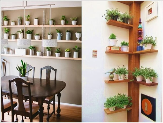 Decorare con le piante 15 idee per decorare dentro casa - Idee per decorare casa ...
