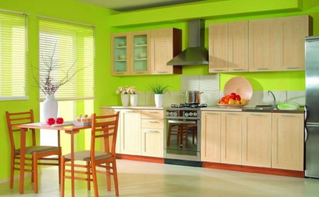 Idee Design di verde per la tua cucina...