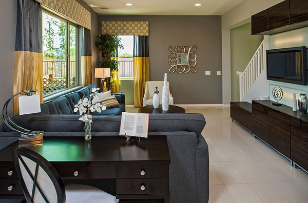 Combine-different-shades-of-gray-along-with-yellow-to-fashion-a-trendy-interior