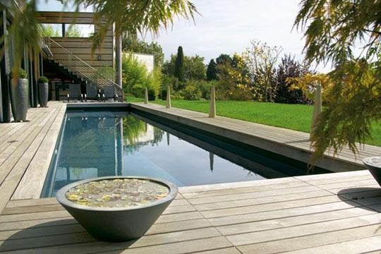 piscina in casa