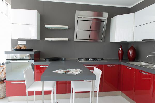 Best Cucina Bianca E Rossa Contemporary - Ideas & Design 2017 ...