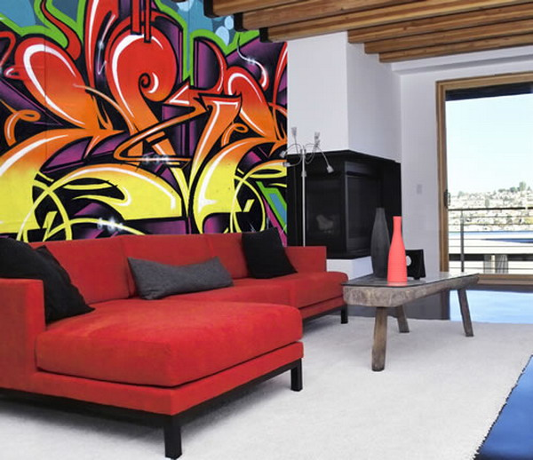 Graffiti-Living-Room-Wall-Mural