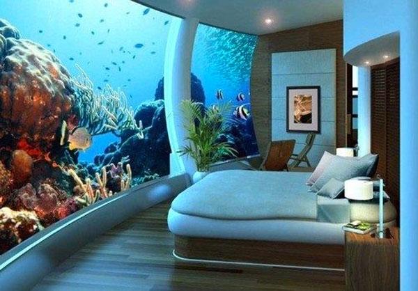 Camera acquario