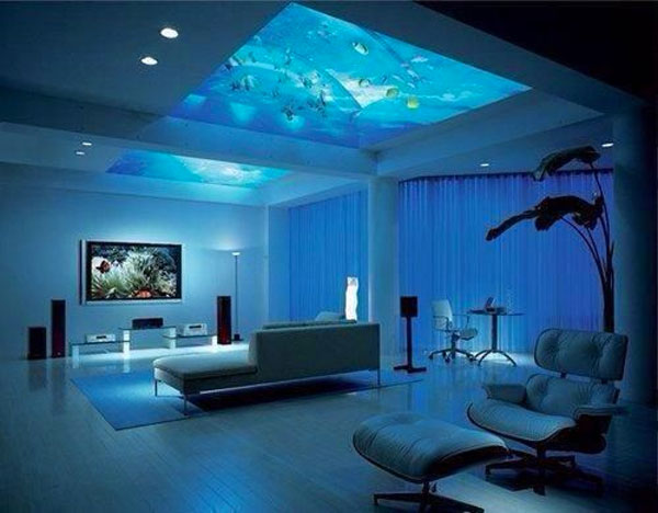 Arredare con un acquario 15 acquari da arredo - Decorative fish tanks for living rooms ...