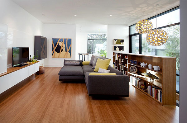 Subtle-use-of-yellow-and-gray-in-the-living-room