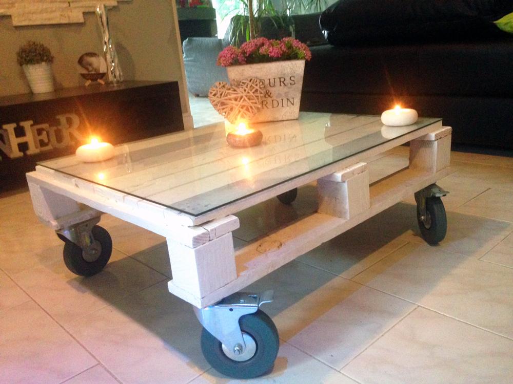 Costruire Tavoli Con Pallet : Tavolino pallet: quando una pedana diventa tavolino! 45 idee..