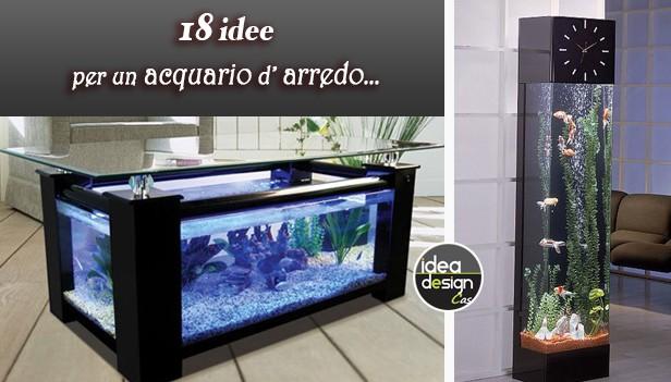 Arredo Bagno Di Design : Arredare con un acquario acquari da arredo