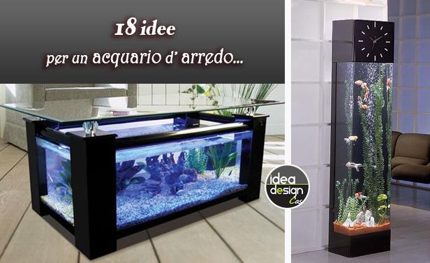 Arredare con un acquario: 15 acquari da arredo
