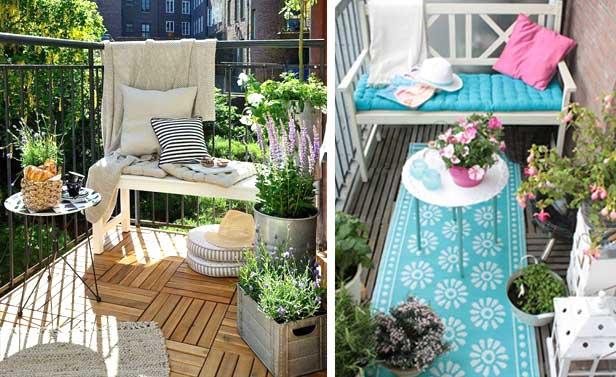 Piccolo balcone 15 idee per arredarlo con stile for Arredare il balcone