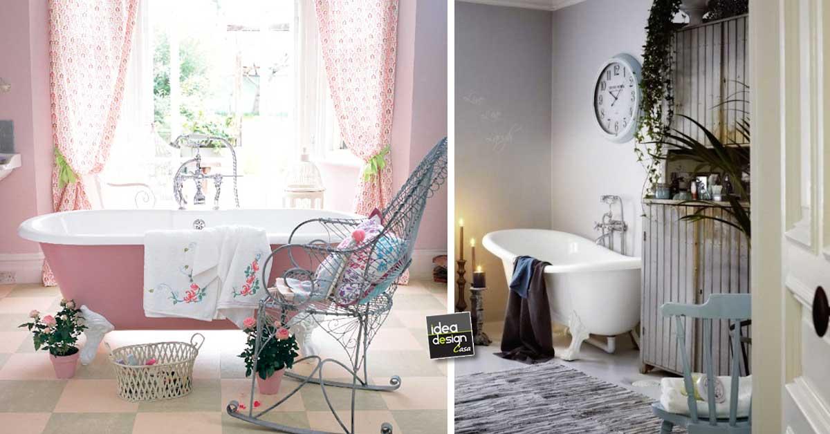 Bagno vintage bagni stile chic vintage per ispirarvi