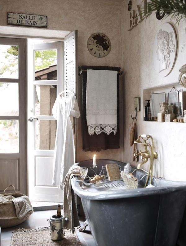 Bagni vintage una bellissima selezione stile vintage - La casa vintage ...