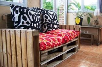 Costruire Mobili Con Pallet : Divano con i pallet costruire un divano con i bancali idee