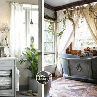 arredare bagno vintage