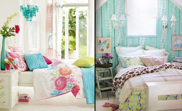 Idea camera da letto 38 idee per portare la primavera in for Idee camera tumblr