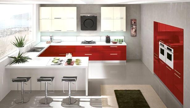 Cucina rossa: Vi siete innamorati del rosso per la vostra cucina ...