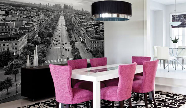 Sala da pranzo stile moderno 22 idee sala da pranzo for Sala da pranzo foto