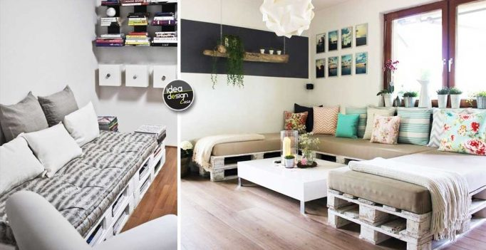 Sofa with pallets Build a sofa with pallets 20 DIY ideas