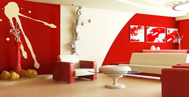 rosso in casa