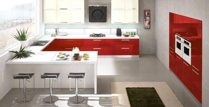 Cucina rossa: vi siete innamorati del rosso per la cucina?