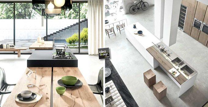 Cucina moderna: L\'isola dei tuoi sogni, versione moderna!