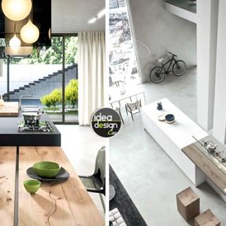 isola cucina in legno