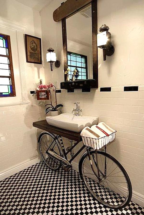 Riciclo bicicletta 22 idee per un riciclo creativo - Idea design casa ...