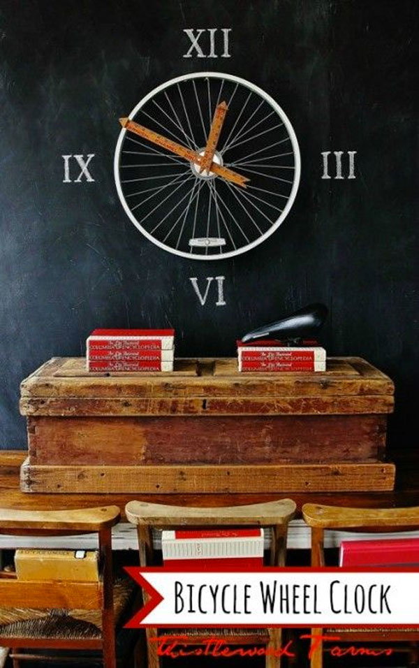 orologio ruota bicicletta