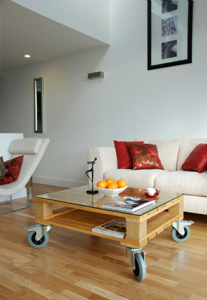 tavolino pallet quando una pedana diventa tavolino. Black Bedroom Furniture Sets. Home Design Ideas