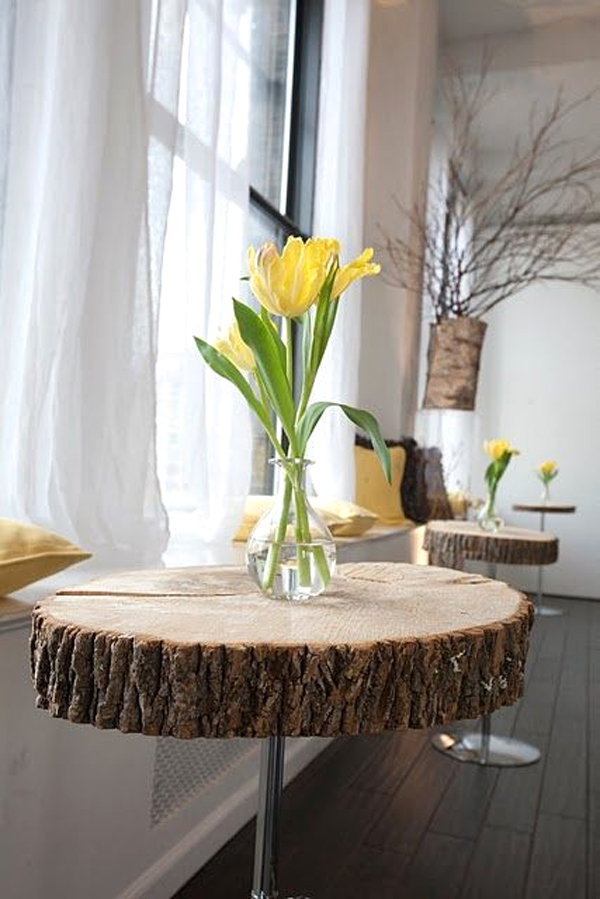 Tronco design quando un tronco diventa design 30 idee - Idea design casa ...