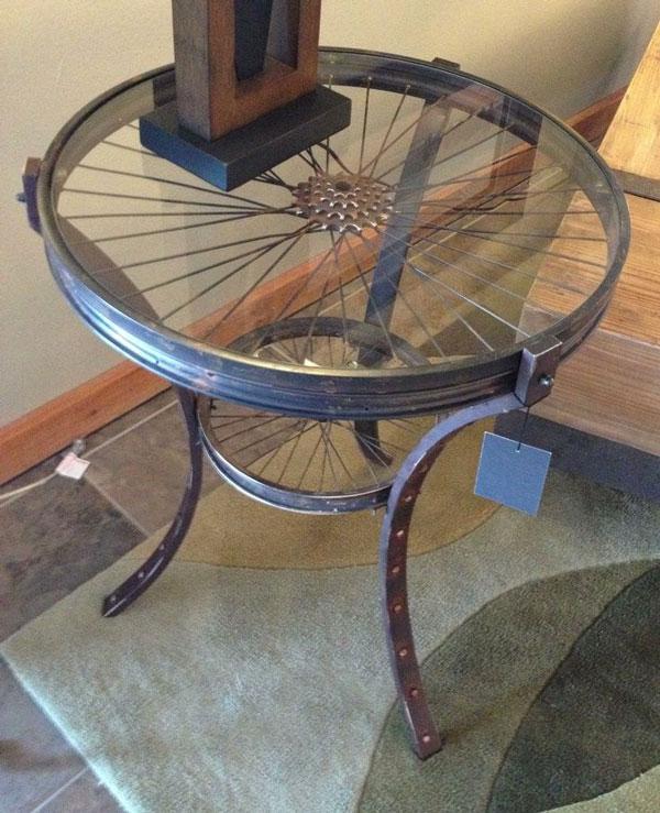 tavolino bicicletta
