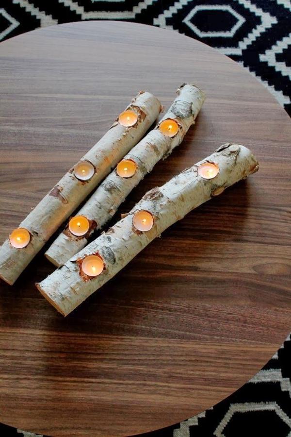 tronchi portacandele