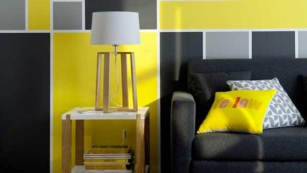 Pareti Camera Da Letto Nera : Arredare con il giallo un colpo di sole dentro casa