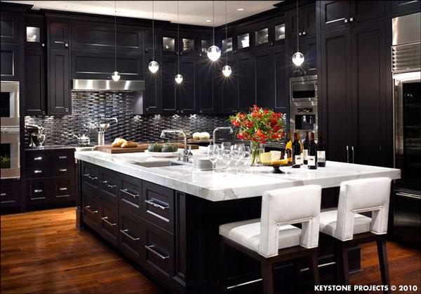 Idee Cucina Bianca : Idea design cucina bianca e nera! 20 idee da cui ...
