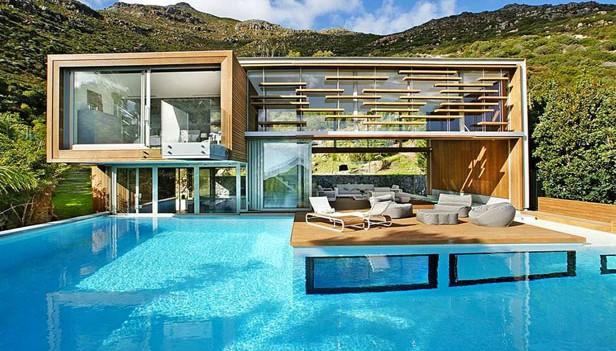 bellissima casa in legno