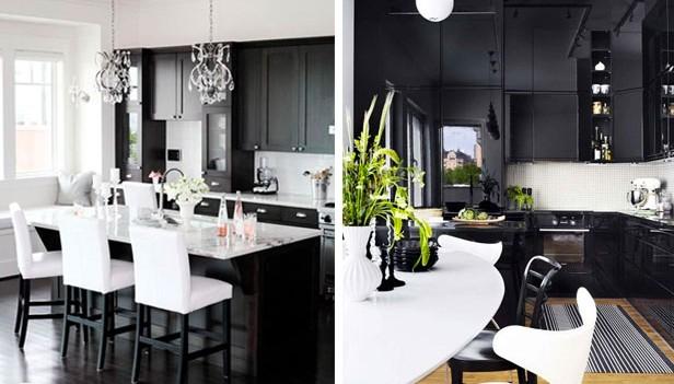 Idea design cucina bianca e nera! 20 idee da cui trarre ispirazione?