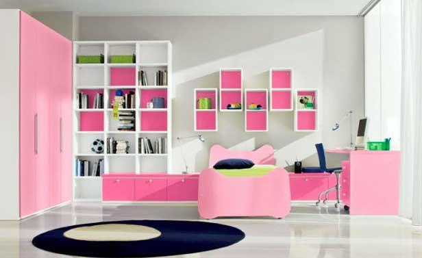idee cameretta rosa