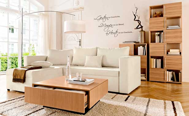 Abbinare legno nel salone 20 idee per arredare il salone for Idee per arredare il salone