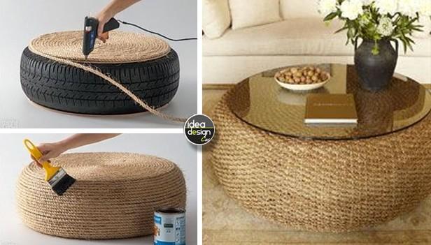 Riciclare pneumatici 30 idee per un riciclo creativo - Idee per lavoro da casa ...