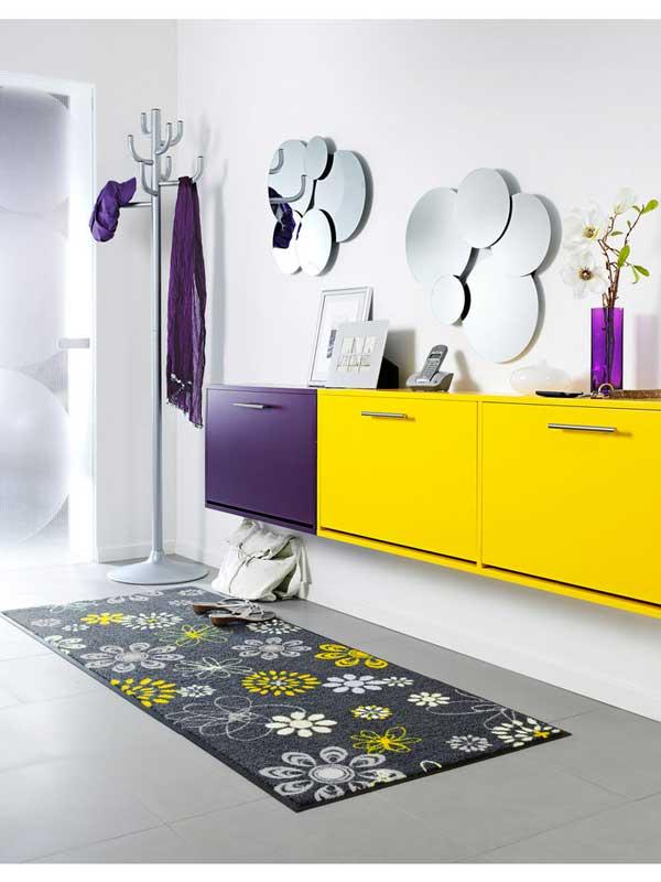 decorazione-casa-giallo-e-viola