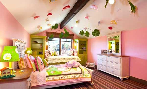 Decorazione soffitto camera da bambino 27 idee - Camera per bambina ...