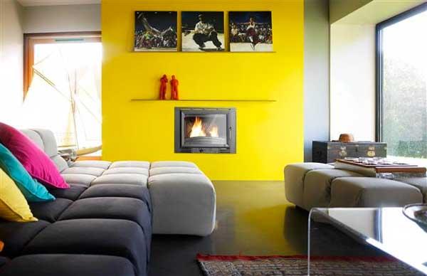Arredare Camera Da Letto Bianco E Nero : Arredare con il giallo un colpo di sole dentro casa