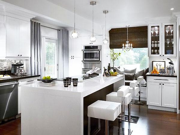 idea bianco e nero cucina