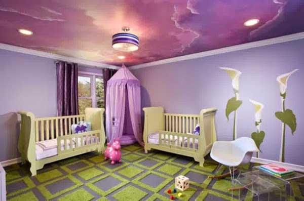 Decorazione soffitto camera da bambino! 17 idee…