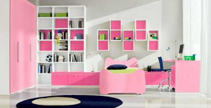Idee cameretta bimba arredare una bella cameretta rosa for Arredare cameretta