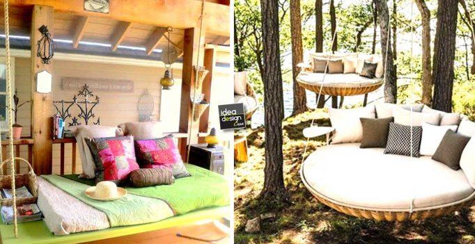 Dondolo da giardino 20 idee per un dondolo design for Idee per il giardino
