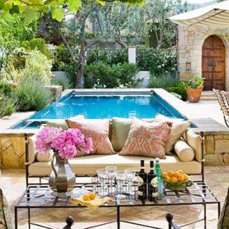 Bellissimo salone da giardino