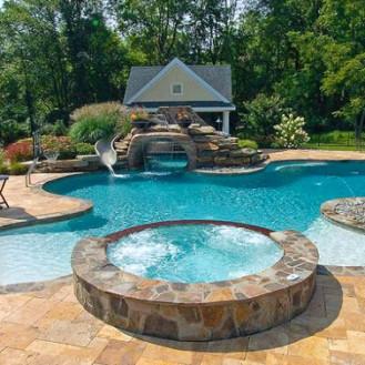 Bellissima piscina Spa