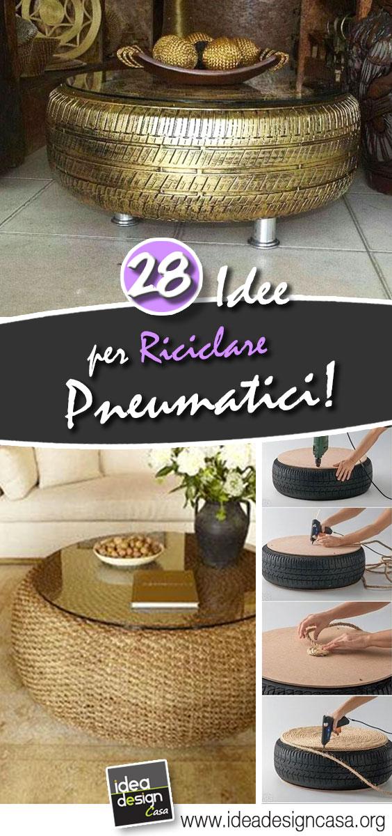 Riciclare pneumatici 28 idee per un riciclo creativo - Riciclare tutto in casa ...