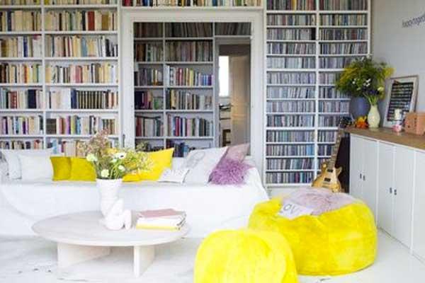 decorare casa con il giallo